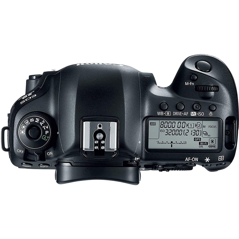 Canon EOS 5D Mark IV appareil photo reflex num?rique avec EF 24-70 mm f / 2,8L II USM Lens - Version internationale (Pas de garantie) 30PC Ensemble d'accessoires. Carte m?moire 64Go Comprend 2 + rempl - image 5 de 8