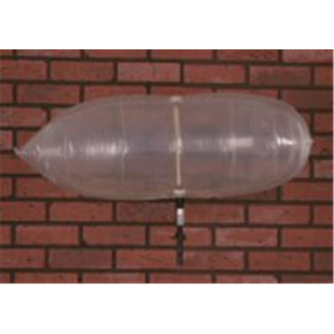 The Chimney Balloon wf009 36 x 15 inch Fireplace Draft Stopper