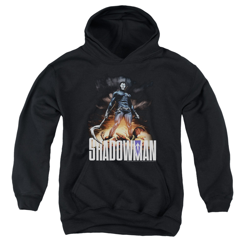 Shadowman Shadow Victory Big Boys Pullover Hoodie
