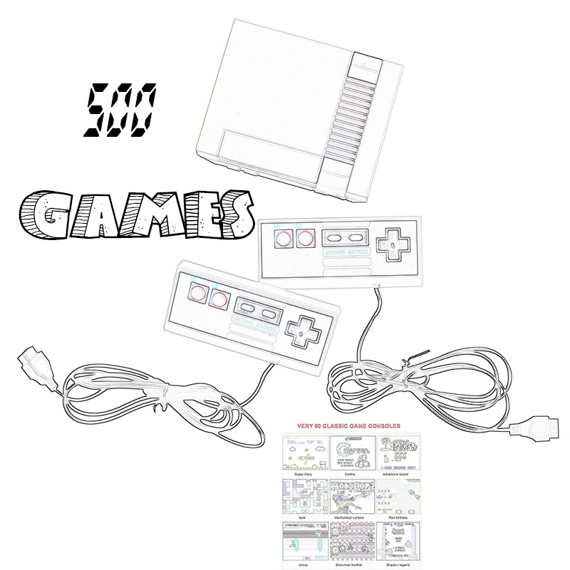 Children Ts 500 Childhood Classic Game Dual Control 153zdcpyxj036