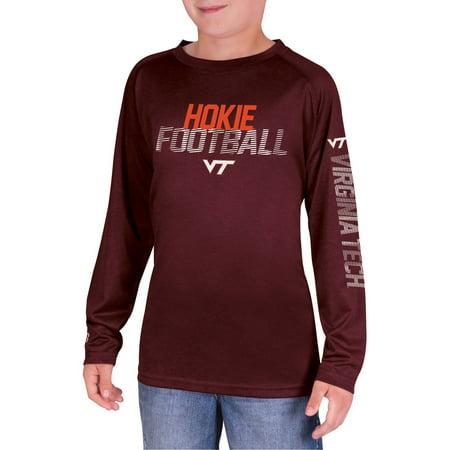 NCAA Virginia Tech Hokies Boys Long Sleeve Impact T-Shirt