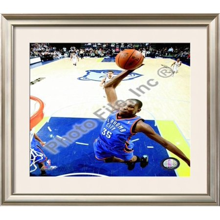 Kevin Durant 2009-10 Framed Photographic Print Wall Art  - 28x32