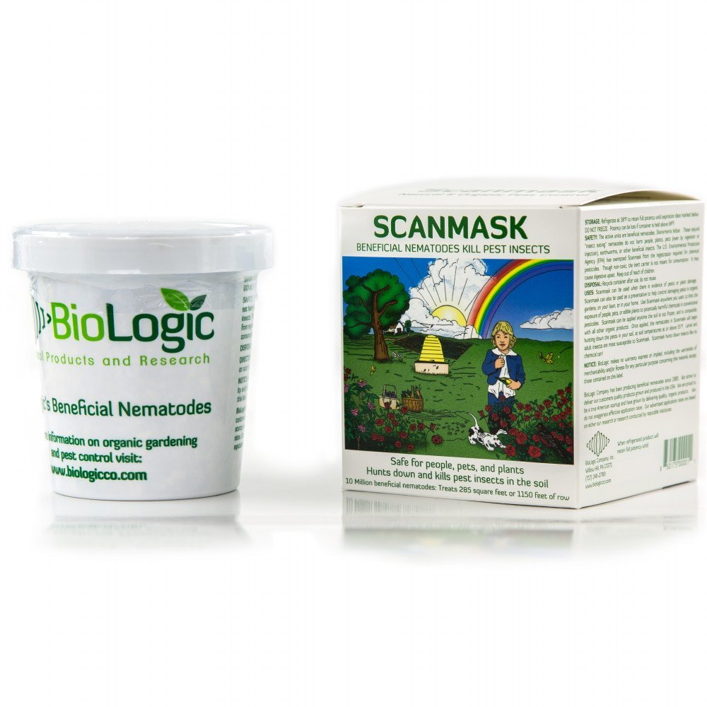 Dr. Pye's Scanmask 25 Million Live Beneficial Nematodes-Kills 230 Different Bugs
