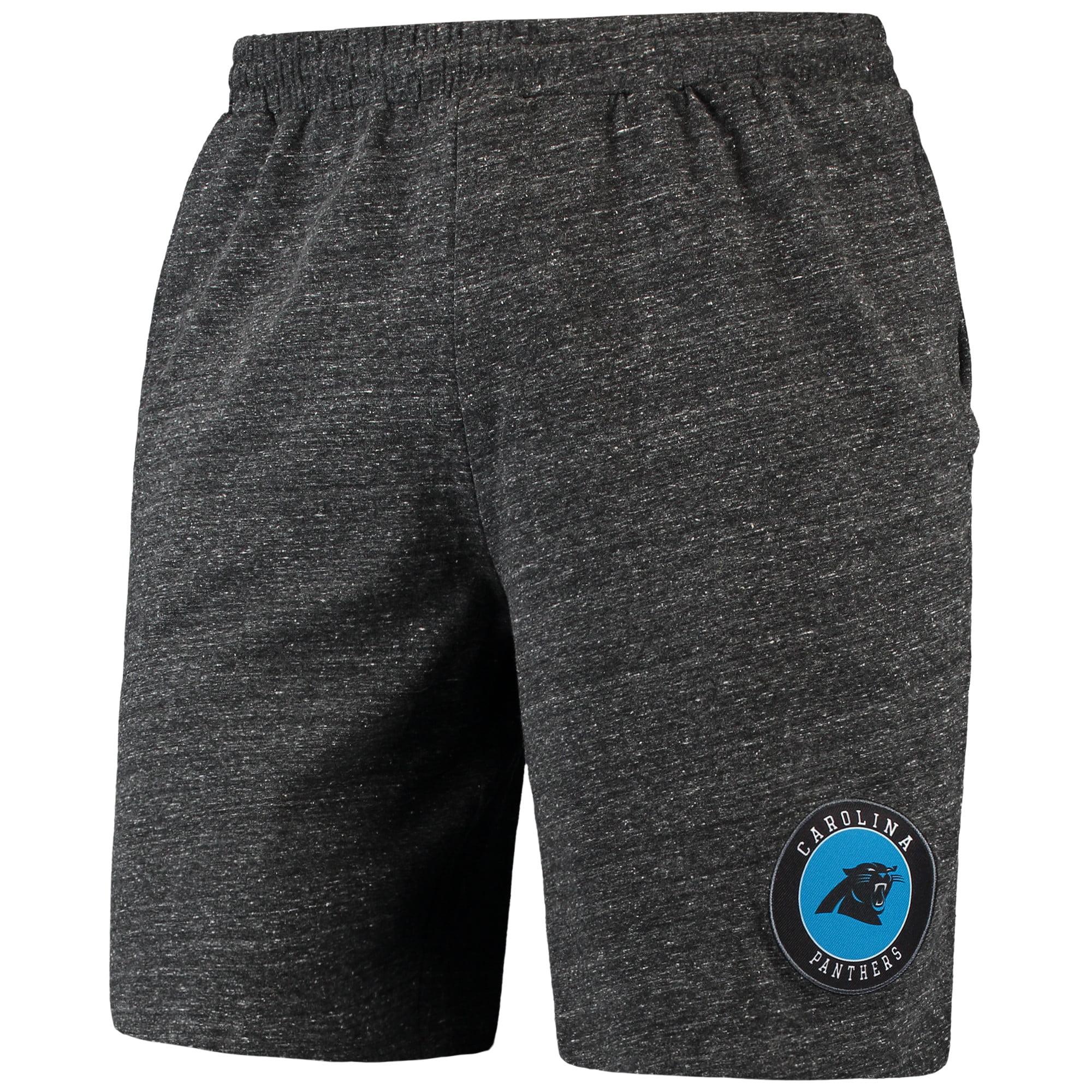 Carolina Panthers Concepts Sport Pitch Knit Shorts - Charcoal