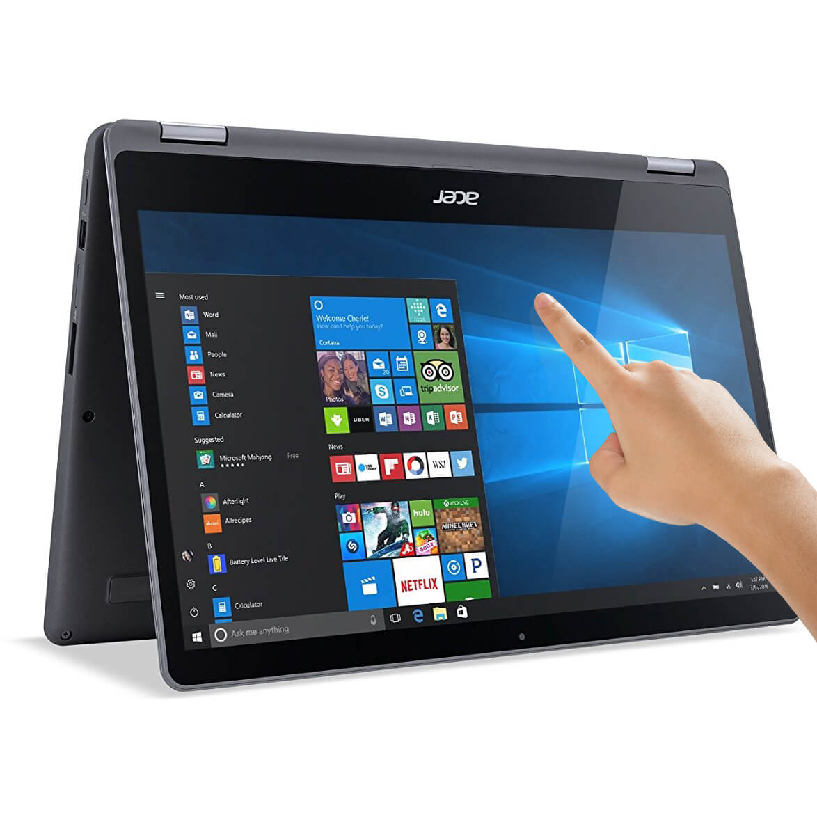 "Refurbished Acer Aspire R5-571TG-7229 15.6"" Touch 2-in-1 Laptop Intel i7 12GB 256GB SSD"