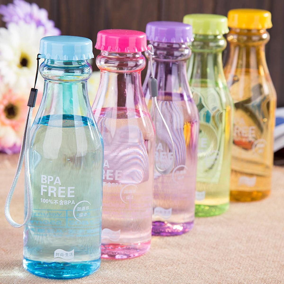 650ml Leak-proof Water Bottle Camping Hiking Bicycle Bike Sports BPA Free Plastic Drink Water Bottle