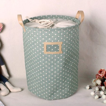 HC-TOP Waterproof Foldable Laundry Bag Dirty Clothes Basket Linen Bin Storage Folded - image 6 of 6