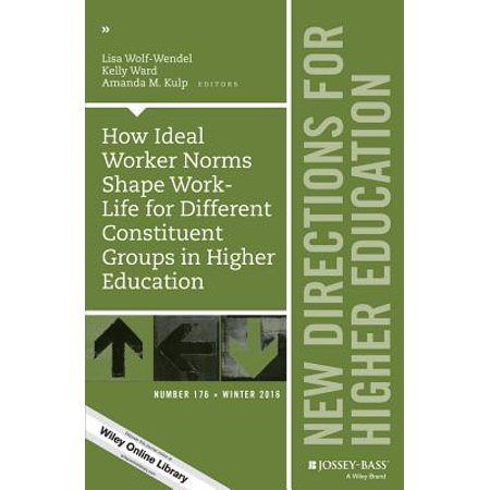 How Ideal Worker Norms Shape Work-Life for Different Constituent Groups in Higher Education : New Directions for Higher Education, Number 176