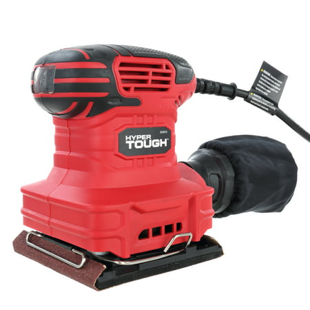 Edger Sander (Hyper Tough 2.0-Amp Palm Sander, AQ20035G)