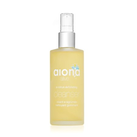 Aiona Alive E-Citrus Exfoliating Cleanser, Anti-Bacterial, Anti Acne Vitamin Face Wash and MakeUp Remover Cleanser, 100% Natural Pore Cleanser For Men & Women,