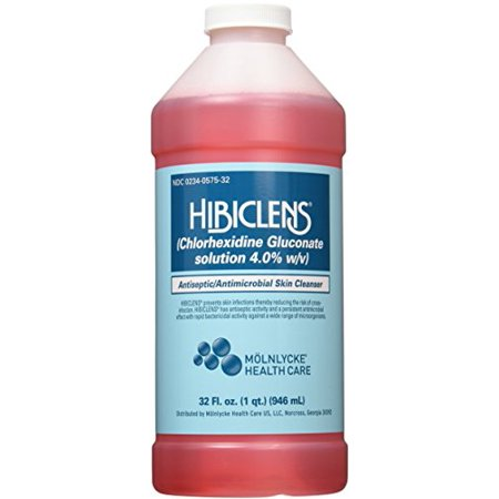 2 Pack Hibiclens Antiseptic Antimicrobial Skin Liquid Soap 32oz Each ()