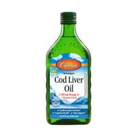 Carlson Norwegian Cod Liver Oil + Vitamins A & D3, 1100 Mg Omega-3, 16.9 Fl Oz.