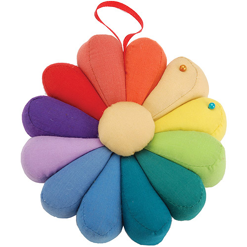 Fons and Porter Dresden Plate Novelty Pin Cushion Multi-Colored