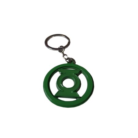 Green Lantern Keychain Key Ring DC Comics Movies Cartoons Auto/Boat House Keys - Carbon Lantern