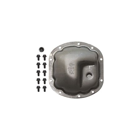 Omix 16595.81 Differential Cover For Jeep Wrangler (TJ), Gray (Omix Differential)