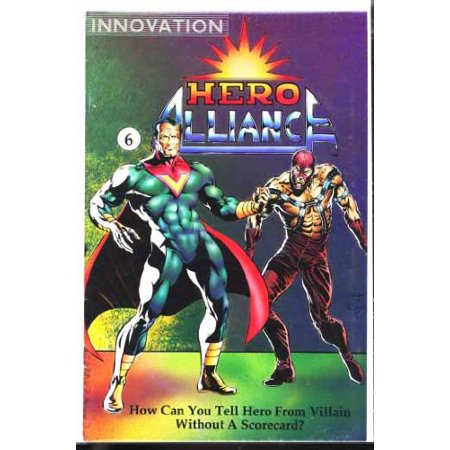 Hero Alliance (Volume 2) #6;,May 1990, Comic Book For Collectors