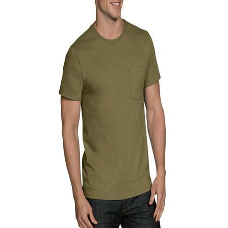9d324ce1 Fruit of the Loom - Men's Assorted Color Pocket T-Shirts, 4 Pack ...