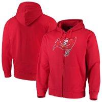 Tampa Bay Buccaneers G-III Sports by Carl Banks Primary Logo Full-Zip Hoodie - Red