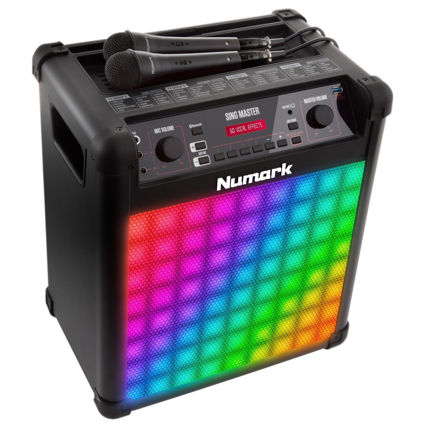 Numark SINGMASTER Karaoke Sound System With Effects