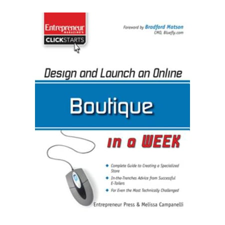 Design and Launch an Online Boutique in a Week - eBook