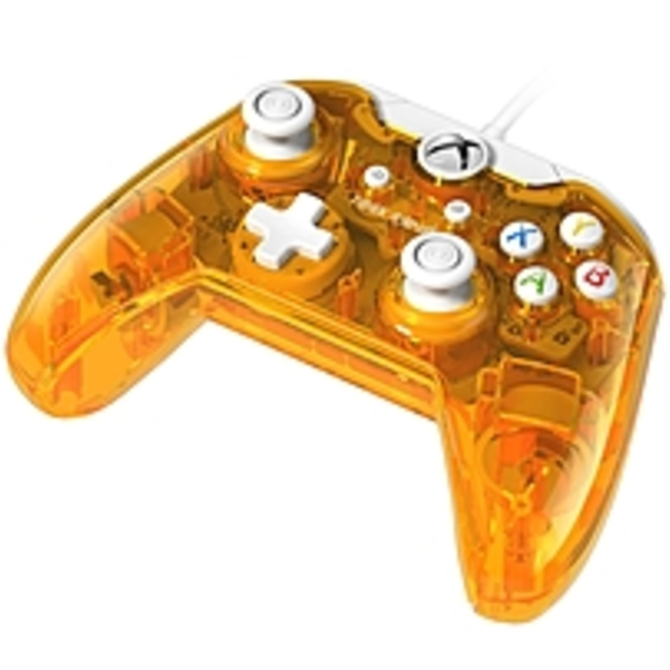 Rock Candy Wired Controller for Xbox One - Atomic Tango Orange - (Refurbished)