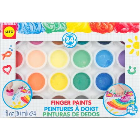Finger Paints 24/Pkg - Halloween Finger Paint Ideas
