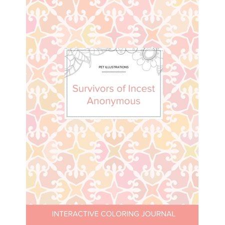 Adult Coloring Journal: Survivors of Incest Anonymous (Pet Illustrations, Pastel Elegance) (Onesole Elegance Soft Step)
