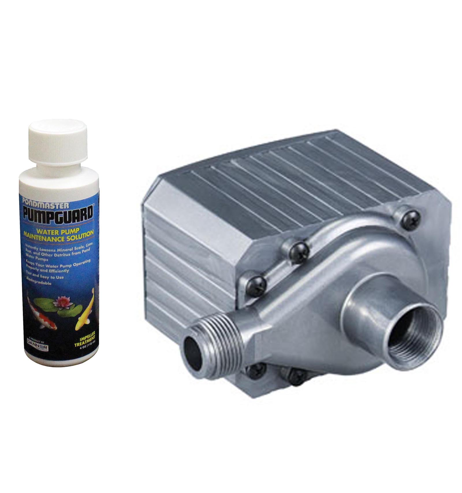 PONDMASTER Model 9.5 Supreme 950 GPH Mag Drive Pond Pump w  Solution | 02710 by Danner Manufacturing, Inc.