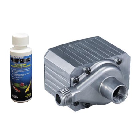 PONDMASTER Model 9.5 Supreme 950 GPH Mag Drive Pond Pump w/ Solution | 02710 (Mag Drive 5 Pond)