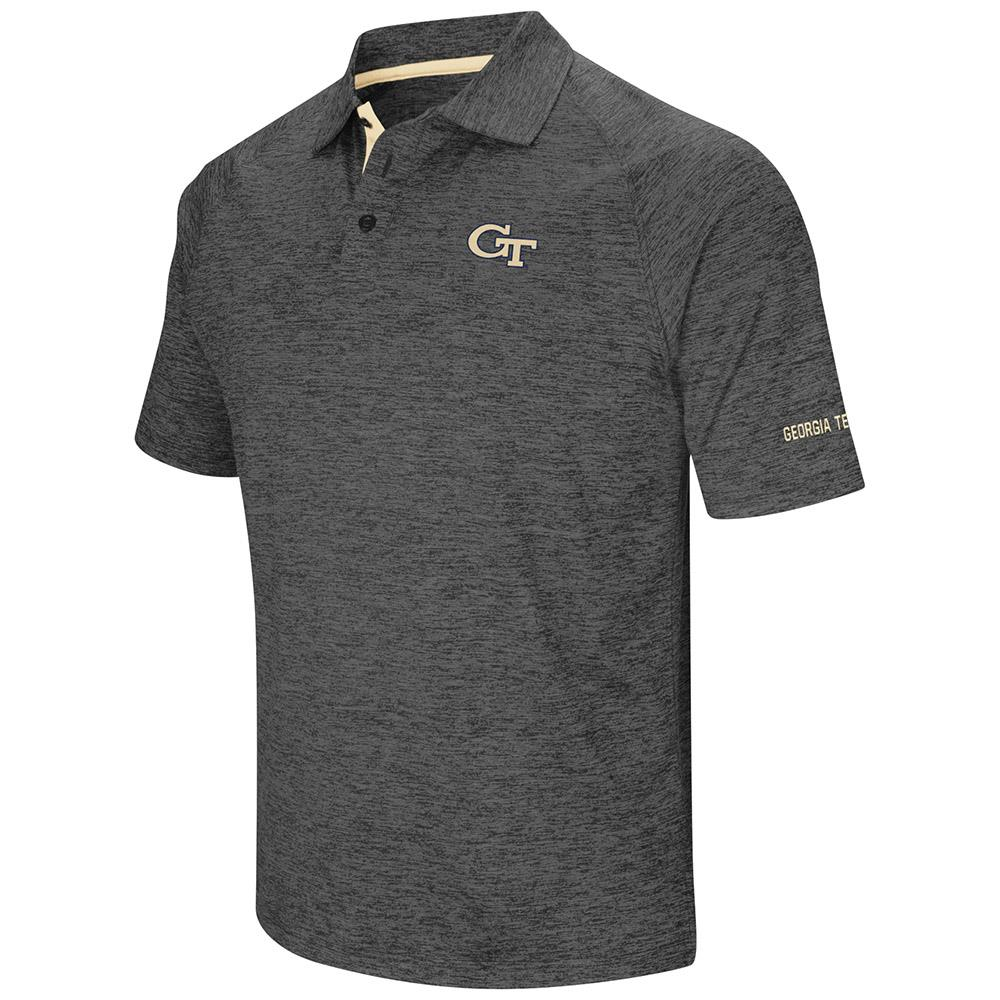 Mens Georgia Tech Yellow Jackets Polo Shirt S by Colosseum