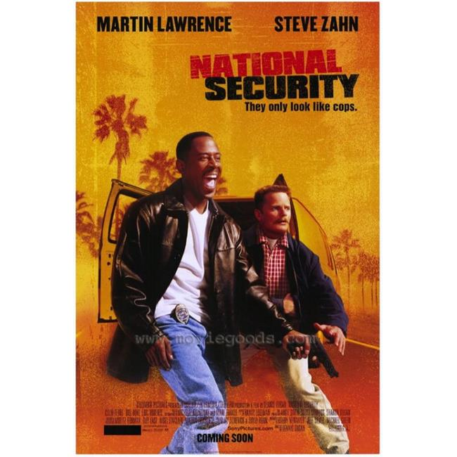 Posterazzi MOVGH6626 National Security Movie Poster - 27 x 40 in. - image 1 of 1