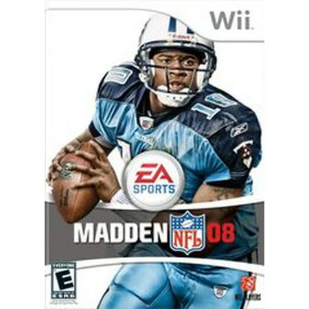 Madden NFL 08 - Nintendo Wii (Refurbished) ()