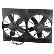 """SPAL Dual 11"""" 2720 CFM High Performance Electric Cooling Fan P/N 33600"""