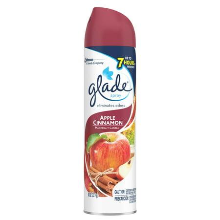 Glade air freshener apple cinnamon 8 0 oz for Air freshener for bathroom