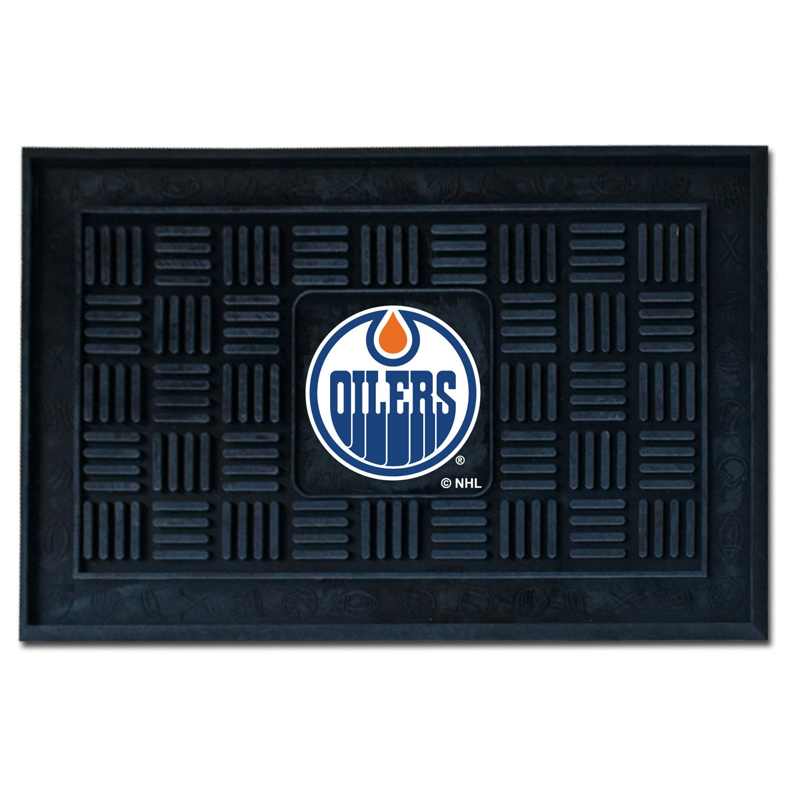 Fanmats NHL 18 x 30 in. Medallion Door Mat