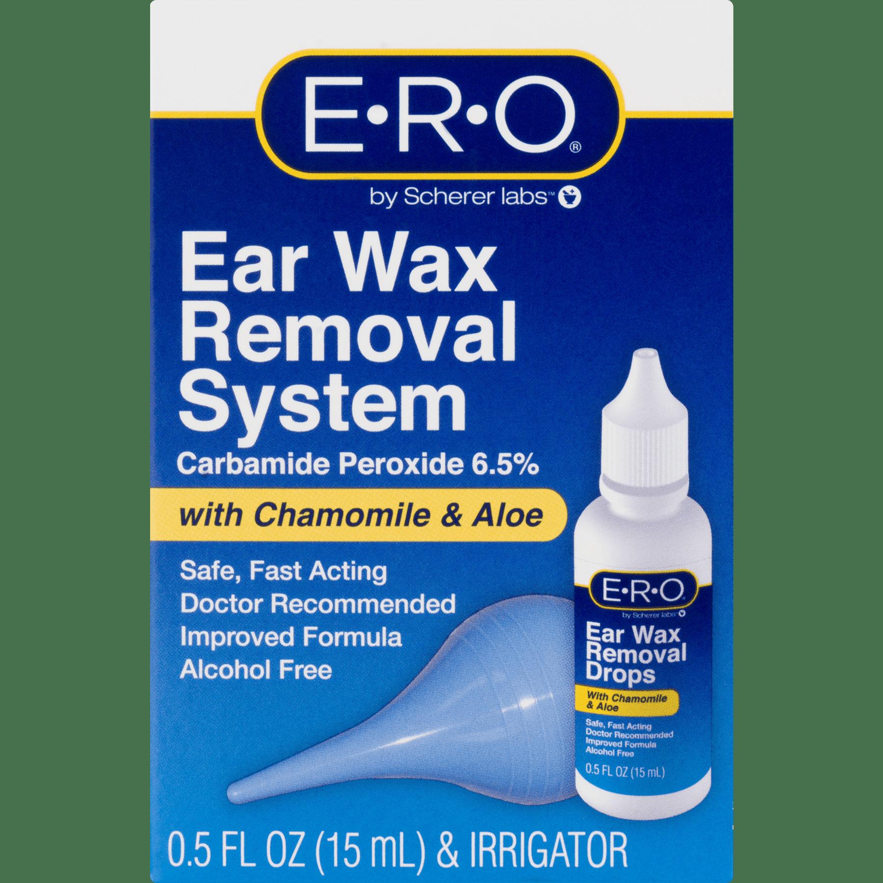 2 Pack) ERO Ear Wax Removal System - Walmart com