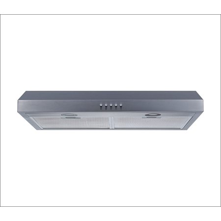"Winflo-30"" Stainless Steel Under Cabinet Range Hood 250 CFM Aluminum Grease Filters"
