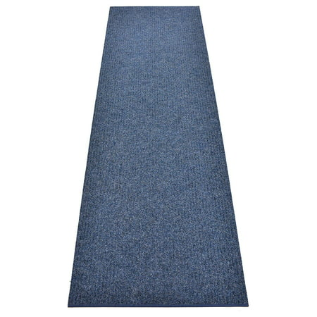Image of Rug Runner Custom Size Indoor Outdoor Slip Skid Resistant Cut to Size Utility Mat Runner Rug Hallway Entrance Runner Rugs Carpet