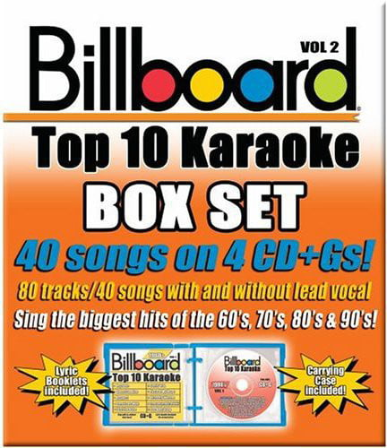 Billboard Top 10 Karaoke 2 by SYBERSOUND