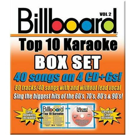 - Billboard Top 10 Karaoke 2 (CD)