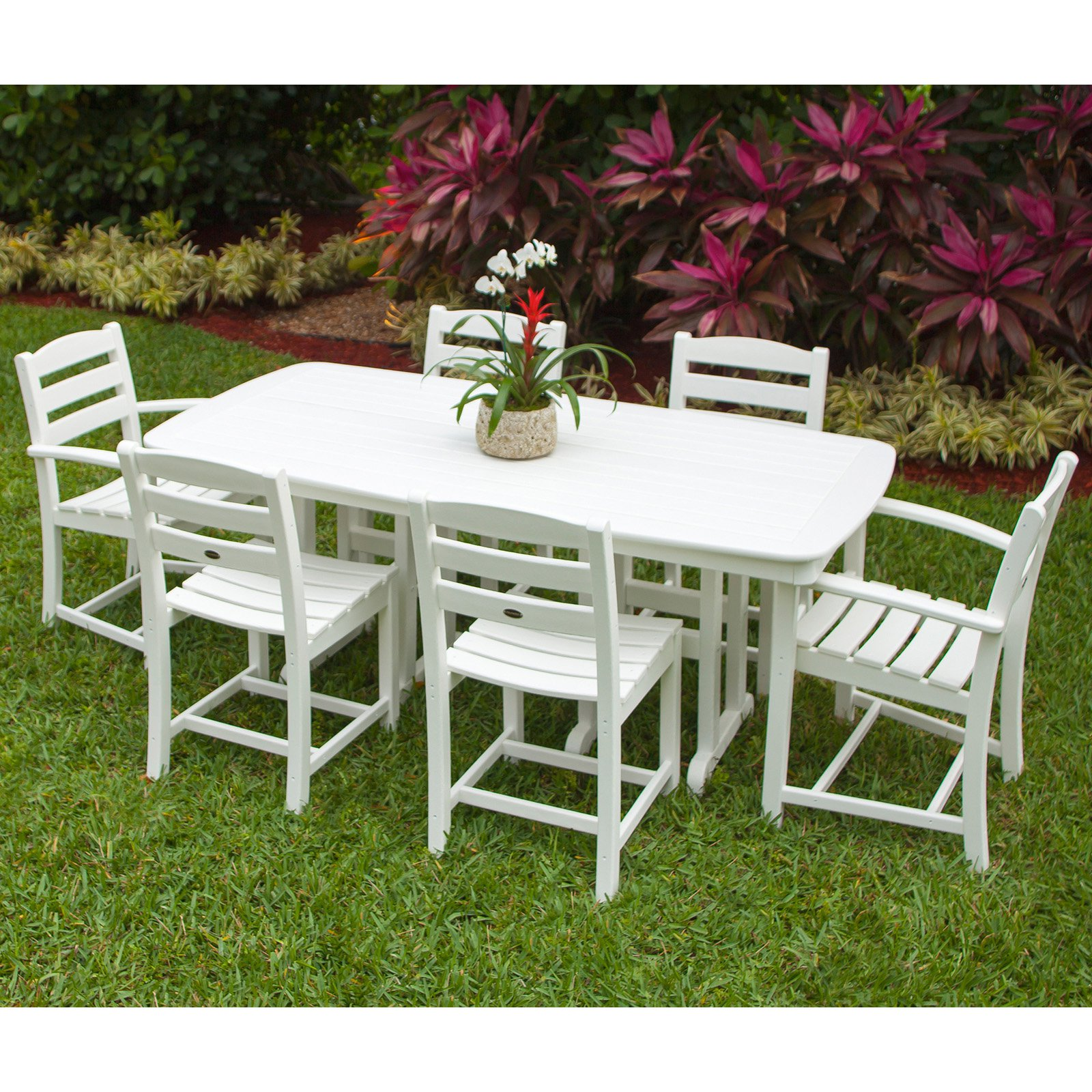 POLYWOOD® La Casa Cafe Dining Set - Seats 6