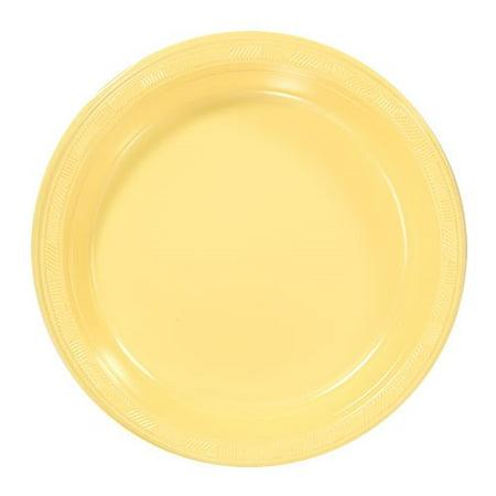 Hanna K Plasticware Plastic Plate, Round, 9