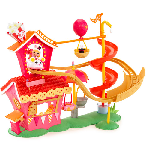Mini Lalaloopsy Silly Fun House Play Set