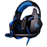 VersionTech Wired Stereo Gaming Headset, Over Ear Headphones with Microphone and Volume