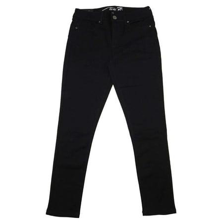 Seven7 Women Booty Shaper Stretch Denim Legging Jean In Fawn Black, (Trademark Global Jean)