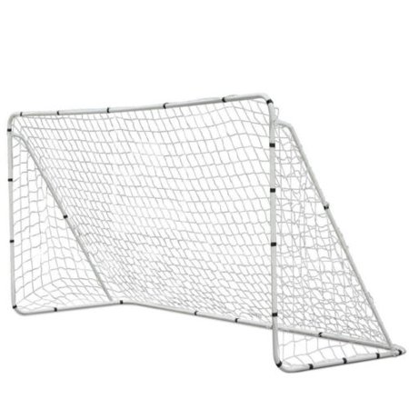 UBesGoo 12' x 6' Powder Coated Steel Soccer Goal, Portable Training Aid Football  Net, for Backyard, Park
