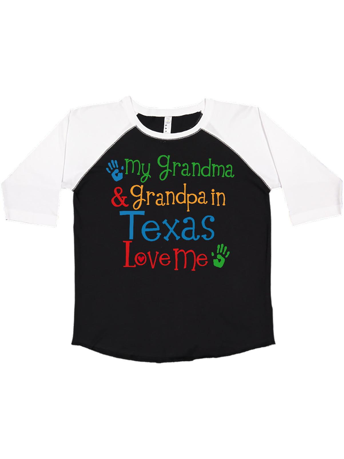 My Grandma in Texas Loves Me Toddler//Kids Sweatshirt