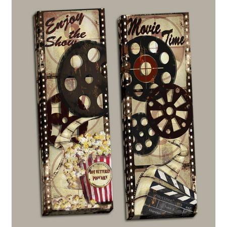 Gango Home Decor Classic Old-Fashioned Cinema