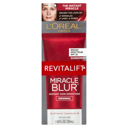 Loreal Paris Revitalift Miracle Blur Instant Skin Smoother Finishing Cream  1 18 Fl Oz