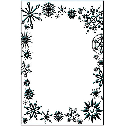 "Crafts-Too Embossing Folder, 4"" x 6"""